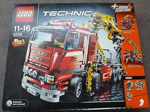 Details about Lego Technic Crane Truck (8258) with Building instructions