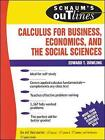 Schaum's Outline of Calculus for Business, Economics, and the Social Sciences by Edward T. Dowling (Paperback, 1990)
