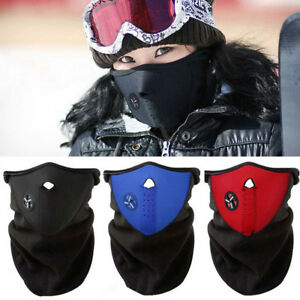 99d16a47e4d Image is loading Motorcycle-Snowboard-BALACLAVA-Ski-Bike-Cycling-Half-Face-