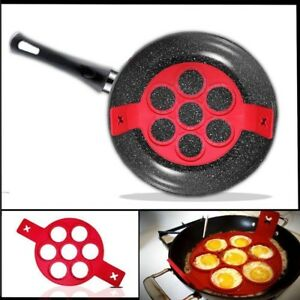 Details About Pancake Nonstick Cooking Tool Egg Ring Maker Cheese Cooker Pan Flip Mold Gl