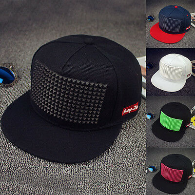 Cool Fashion Men's Bboy Adjustable Baseball Cap Snapback Sports Hip-hop Hats