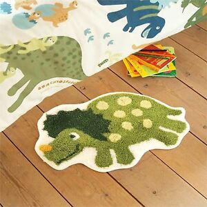 Catherine-Lansfield-Dinosaure-Tapis-Vert-Enfants-Chambre-a-coucher-Gratuit-P-P