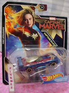2018-2019-MARVEL-CAPTAIN-MARVEL-First-Appearance-Hot-Wheels-Character-cars