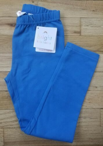 NWT HANNA ANDERSSON LIVABLE LEGGINGS 120 US 6 7  BLUE NEW!