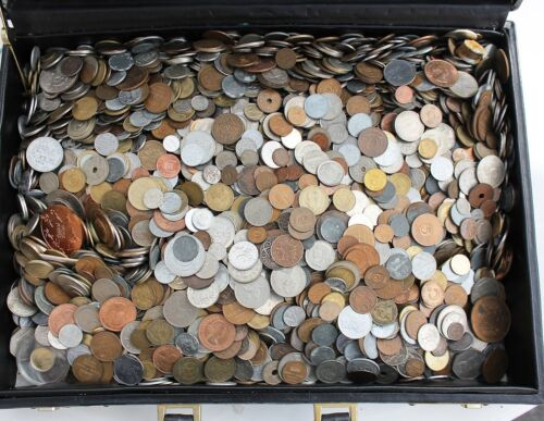 MOSTLY 20th CENTURY DATES! SET LOT OF 30 DIFFERENT TYPE FOREIGN WORLD COINS