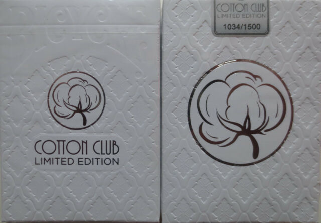 Bicycle Made Cotton Club Limited Edition Playing Cards New Deck