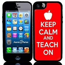 Keep Clam And Teach On For Iphone 6 Case Cover