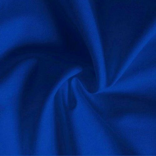 110cm Wide New by Dcf Mid Blue Shade Cotton Twill Fabric