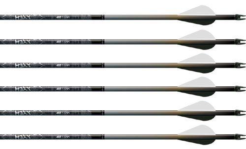 """480 Spine 2/"""" Blazer Vanes//Multiple colors 6 Pk 4MM Carbon Injexion Details about  /Easton"""