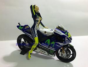 01:12 Conversión Figure Figurine Pit Babe Valentino Rossi Vélo Minichamps 2014