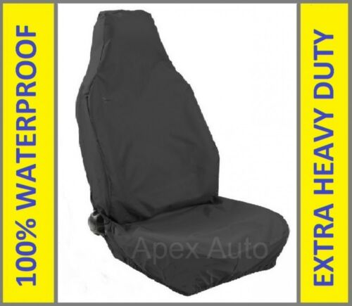 1 x FORD TRANSIT Custom Waterproof Front Single Seat Cover Heavy Duty Protector