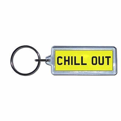 Metal BEST UNCLE UK Number Plate Key RingChoose Medallion Plastic