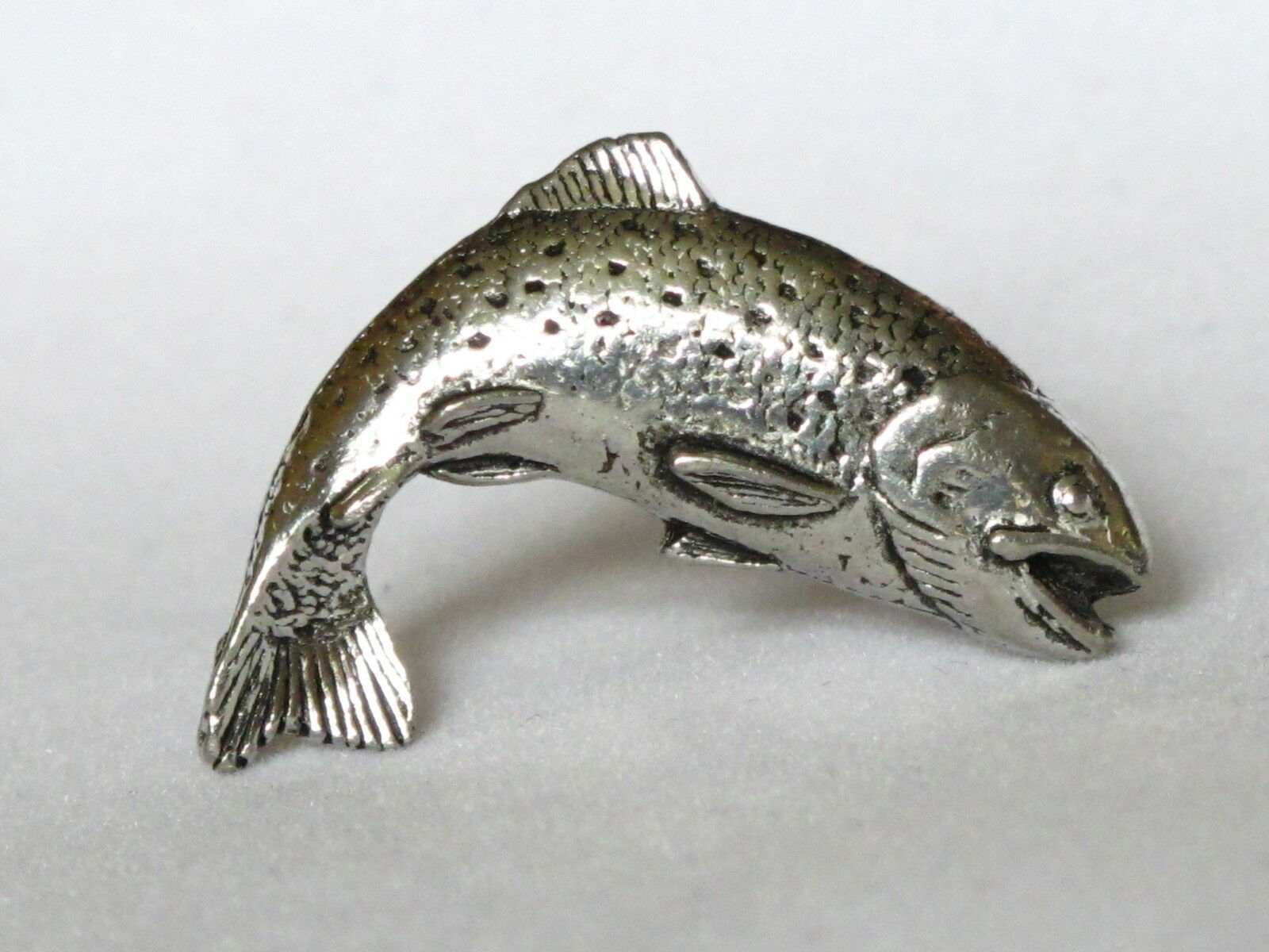 Leaping Trout Fishing Angling Fine Pewter Cufflinks Gift Mens Jewellery Boxed