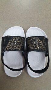 55c9d03b6ca641 NIB Nike Jordan Hydro 7 (TD) Slides Flip Flops Toddler Size 10c ...