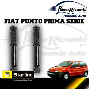 KIT 2 REAR SHOCK ABSORBERS STARLINE FIAT PUNTO FIRST SERIES | eBay Fiat Punto Prima Serie on fiat stilo, fiat ritmo, fiat 500 turbo, fiat marea, fiat seicento, fiat linea, fiat coupe, fiat barchetta, fiat multipla, fiat bravo, fiat 500l, fiat cars, fiat cinquecento, fiat 500 abarth, fiat panda, fiat doblo, fiat x1/9, fiat spider,