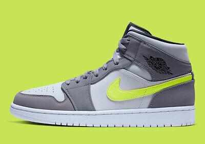 Nike Air Jordan 1 Mid GUNSMOKE NEUTRAL