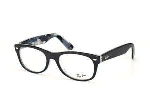 8823f04d0a1 Ray-Ban Wayfarer RX 5184 5405 Black Eyeglasses Authentic New 50mm ...
