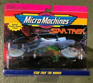 Micro Machines Star Trek The Movies Special Display Stands Inside Galoob Sci Fi