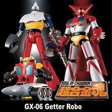 BANDAI SOUL OF CHOGOKIN SOC GX06 GX-06 6 GETTER ROBO FIGURE ES AQ957