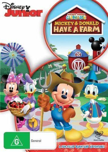 1 of 1 - Mickey Mouse Clubhouse - Mickey & Donald Have A Farm (DVD, 2013)