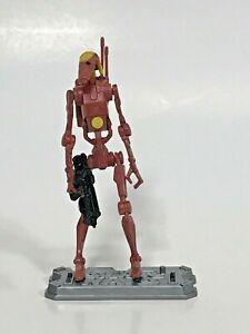 STAR WARS 30th saga legends Tan BATTLE DROID commander TPM