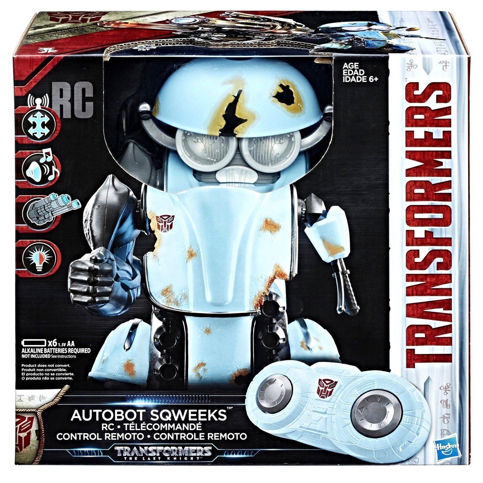 Transformers  der letzte ritter autobot - sqweeks rc von hasbro