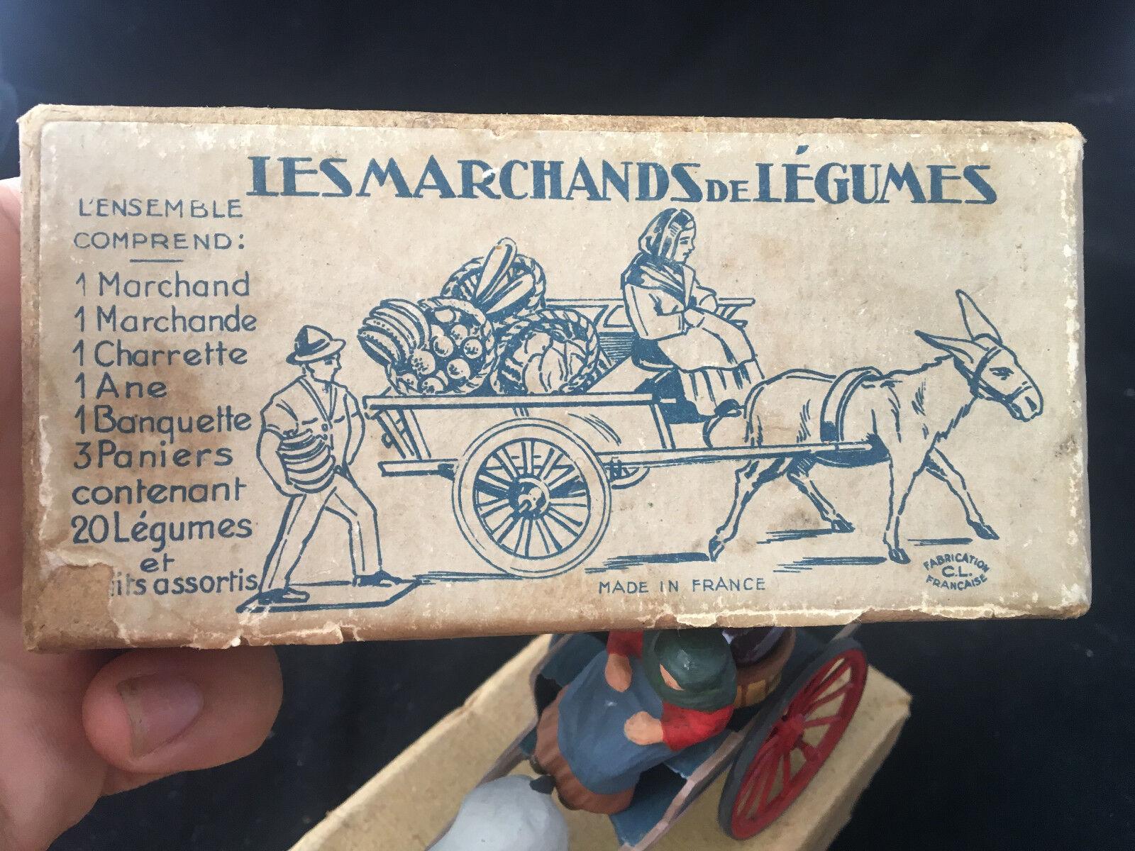 Achats de Noël La Marchande de Légumes CL FRANCE boîte Attelage en boîte FRANCE d'origine 7ffe1b