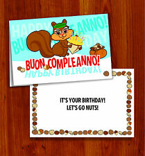 Item 3 BUON COMPLEANNO