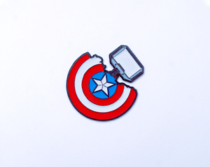 Enamel-Pin-Captain-America-Shield-x-Mjolnir-Hammer-Fan-Art