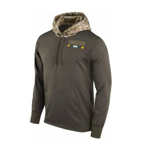 Green-Bay-Packers-Hoodies-Men-039-s-Sweatshirts-Salute-to-Service-Sideline-Pullover