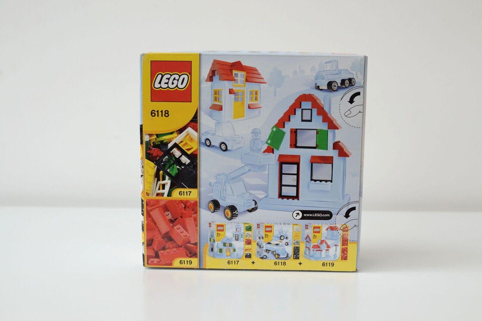 LEGO 6118 Räder Wheels neu in OVP