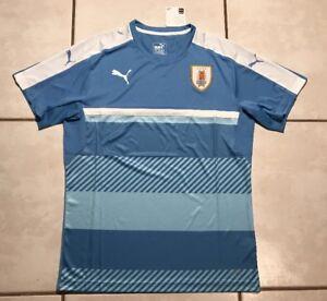 234f1b3a36b Image is loading NWT-PUMA-Uruguay-National-Team-Training-Jersey-Men-