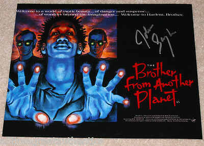 Movies Director John Sayles Signed 'the Brother From Another Planet' 8x10 Photo W/coa