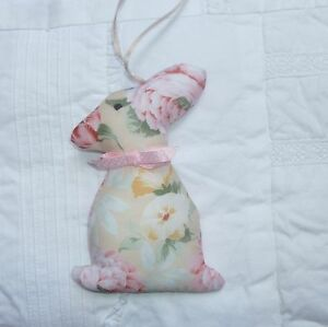 ONE-Padded-Hanging-Fabric-Rabbit-Decorations-Bunny-Handmade