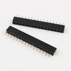 20Pcs-2mm-2-0mm-Pitch-1x16-Pin-16-Pin-Single-Row-Straight-Female-Header-Strip