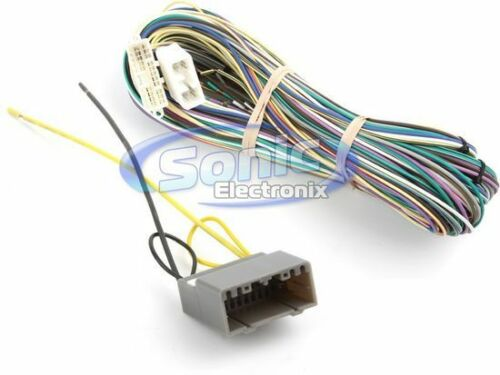Metra 70-6504 Amplifier Bypass Harness for 2004-09 Chrysler//Dodge//Jeep
