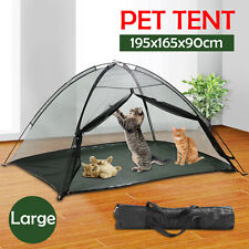 Portable Indoor Outdoor Pet Dog Cat PlayPen Enclosure Exercise Cage Play Tent  sc 1 st  eBay & The Cat House Indoor Outdoor Portable Catio Enclosure Pet Tent for ...