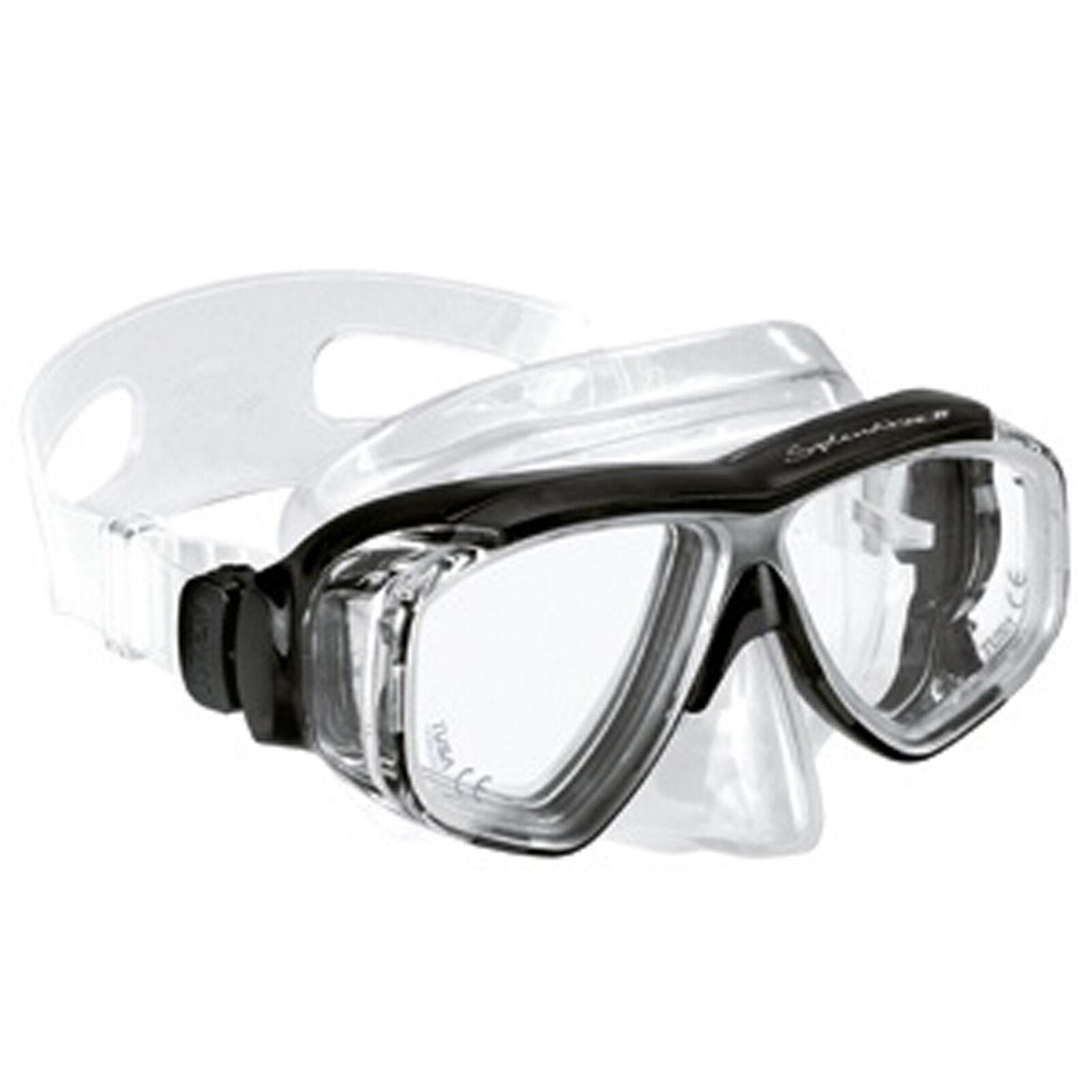 Optische Taucherbrille Sehstärke von + 4,5 bis - 8,0 Erwachsene Erwachsene Erwachsene Tauchmaske Neu 64845f