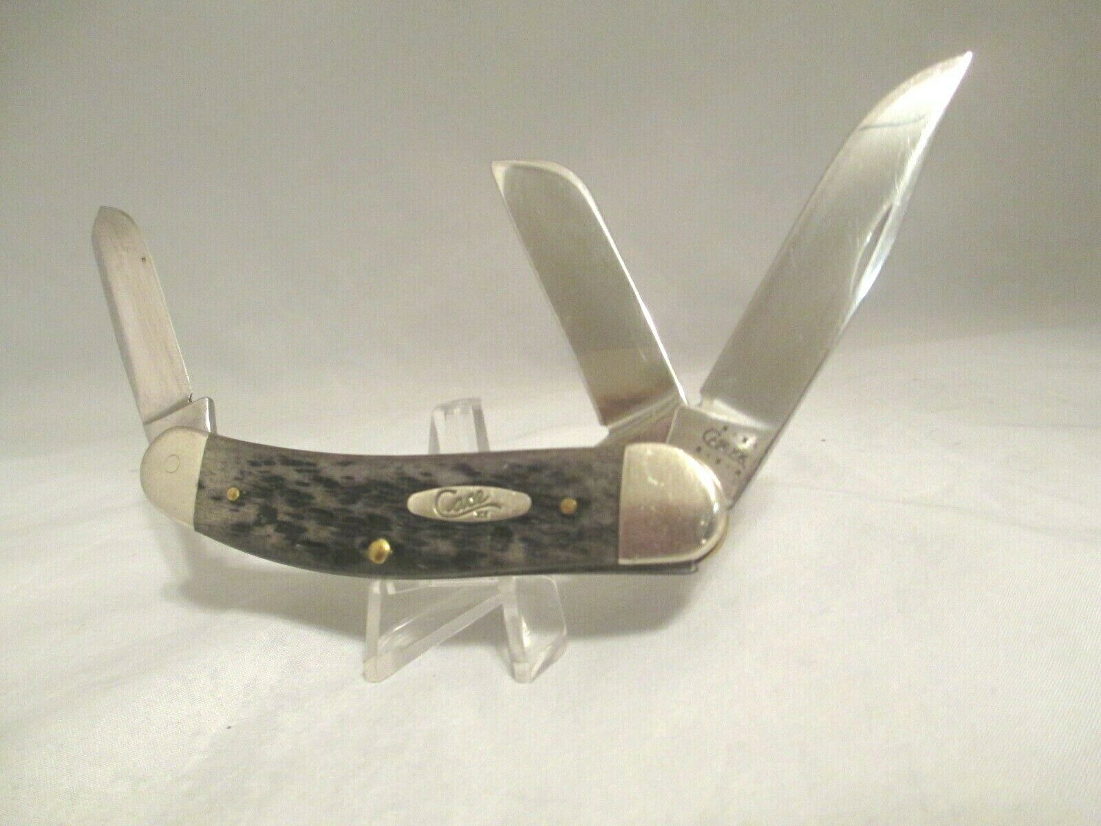 CASE XX TB6339 Tony Bose 2001 Sowbelly Black Handle Knife B1407