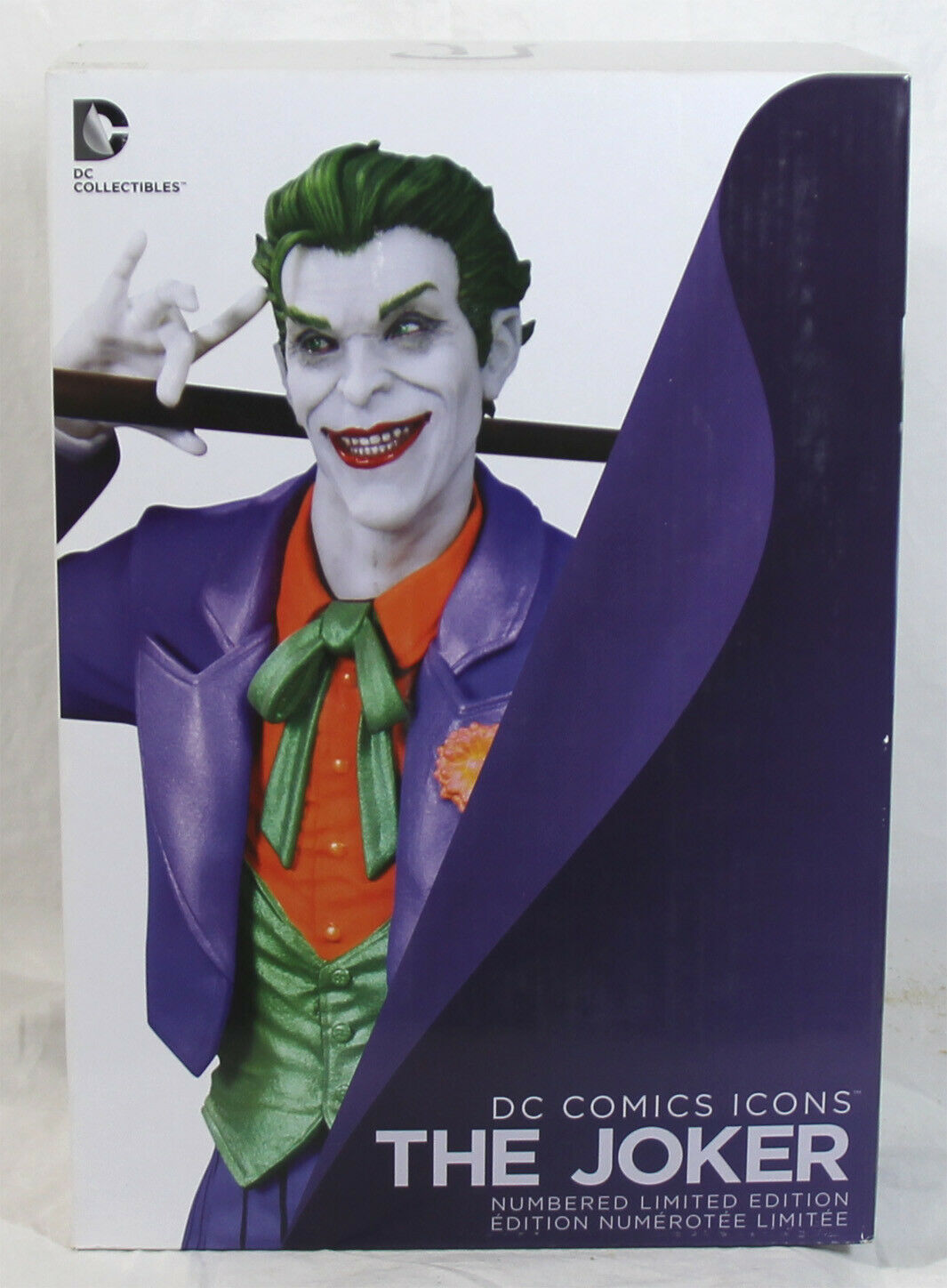 DC Collectibles DC Comics Icons The Joker sculpted by Alan Sales - New