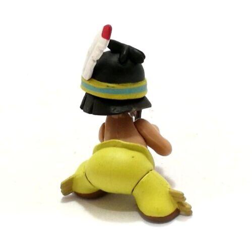Disney Japan TOMY Choco Egg Little Boy Hiawatha with Bow Mini Figure Doll Toy