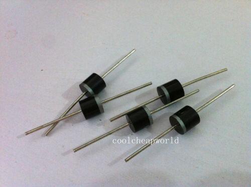 200pcs 6A10 6A 1000V 1KV 6 Amp Axial Rectifier Diode
