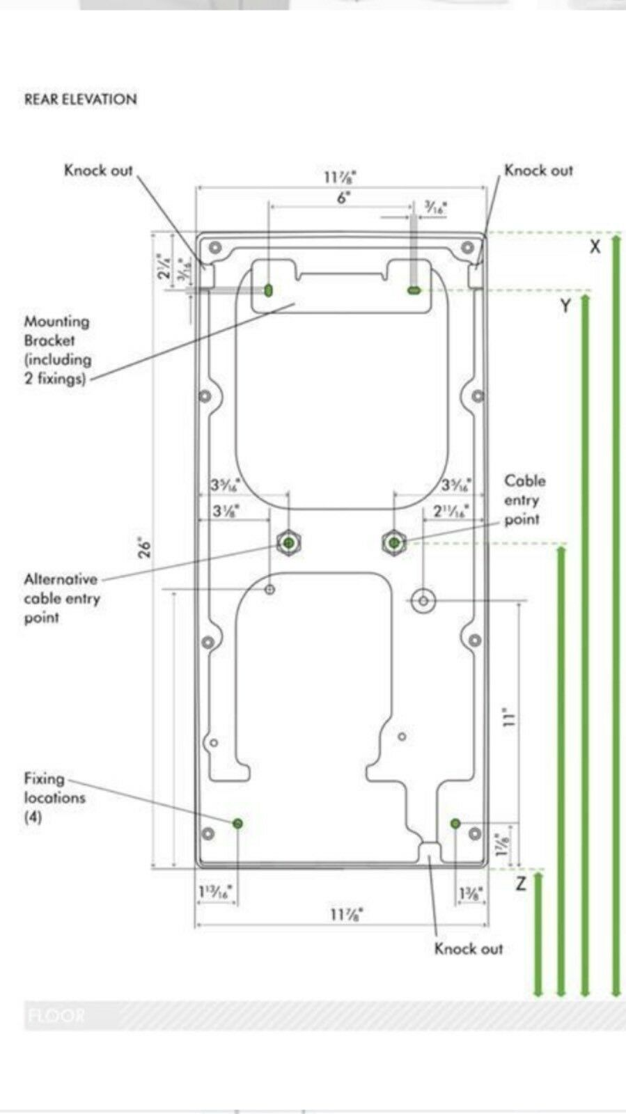 Dyson Ab14 Airblade Hand Dryer In Steel Gray 120v Ebay Xlerator Wiring Diagram