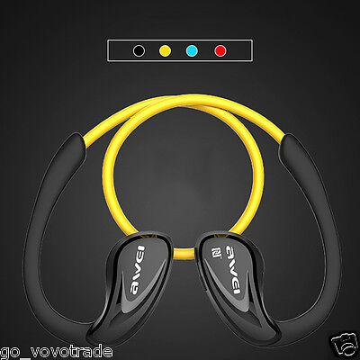 Super Bass Sports Earphones Headphone Wireless Bluetooth NFC Headset with Mic
