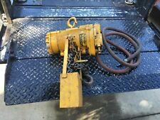 Ingersoll Rand Ton Air Pneumatic Chain Hoist Ml 250k 1a