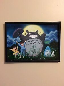 MY-NEIGHBOUR-TOTORO-NEIGHBOR-Framed-Photo-Poster-Print-A4-260gsm