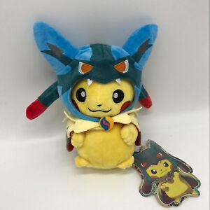 pokemon sun moon go plush mega lucario costume pikachu soft toy doll