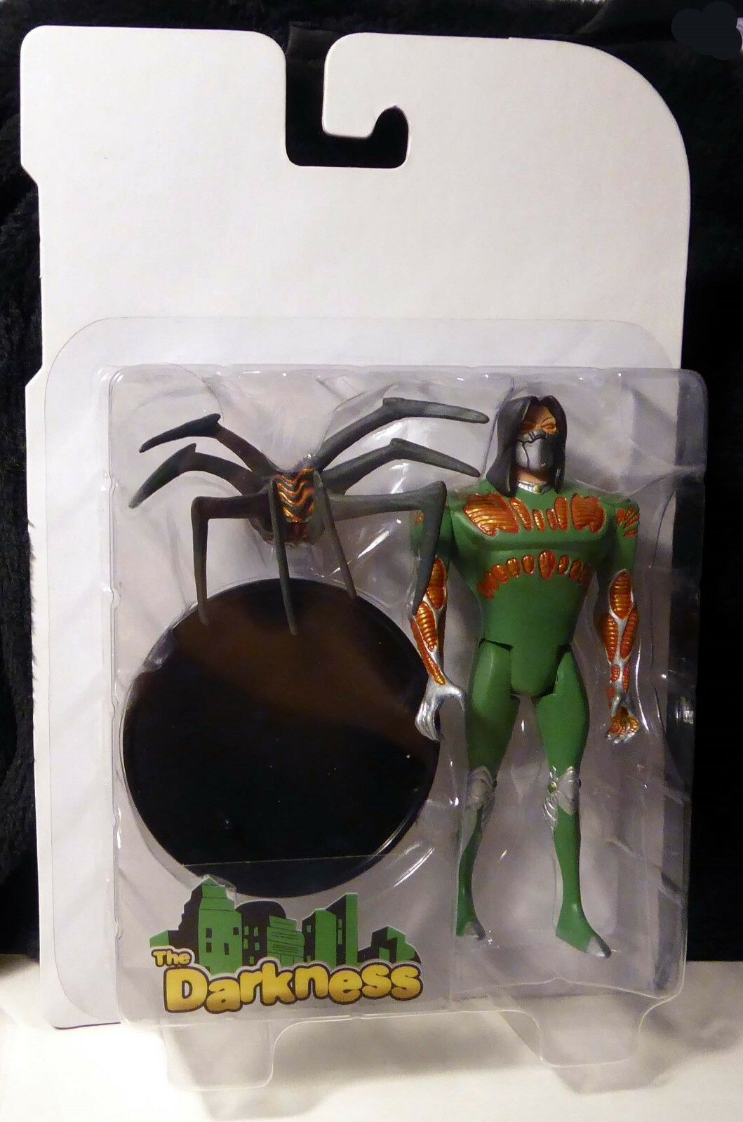 Palisades Toys Darkness Witchblade Animated Predotype Figure Action Figure COA