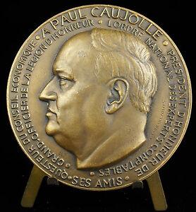 Medal-Paul-Caujolle-1955-Sarrabezolles-in-memoriam-Accounting-Accountant-Medal