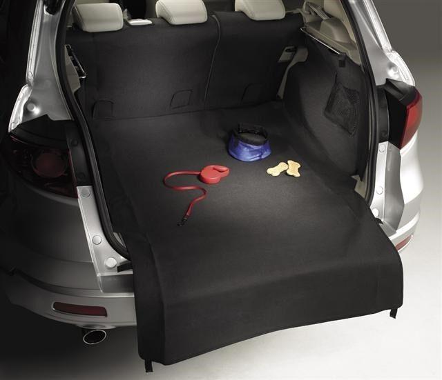 Genuine OEM 2007-2013 Acura MDX Black Cargo Area Liner